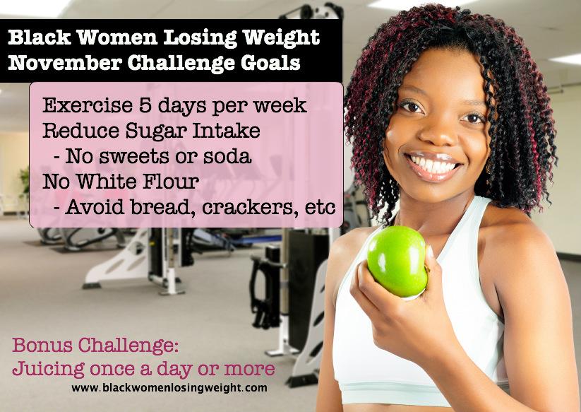 BWLW's November Weight Loss Goals