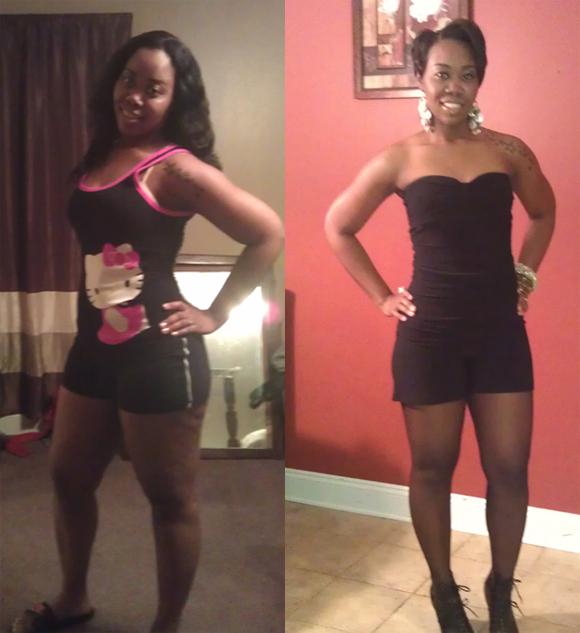 Gewanda's weight loss journey