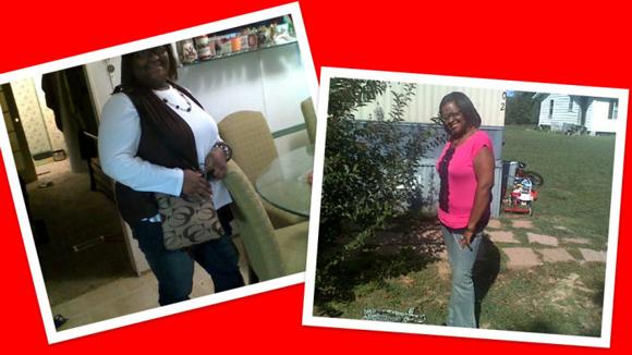 shalonda's weight loss