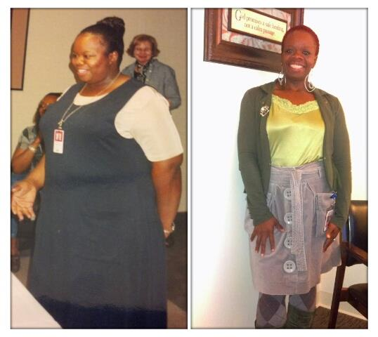 DeAngela weight loss