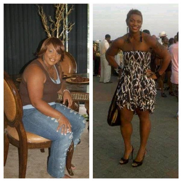 Datasha lost 100 pounds