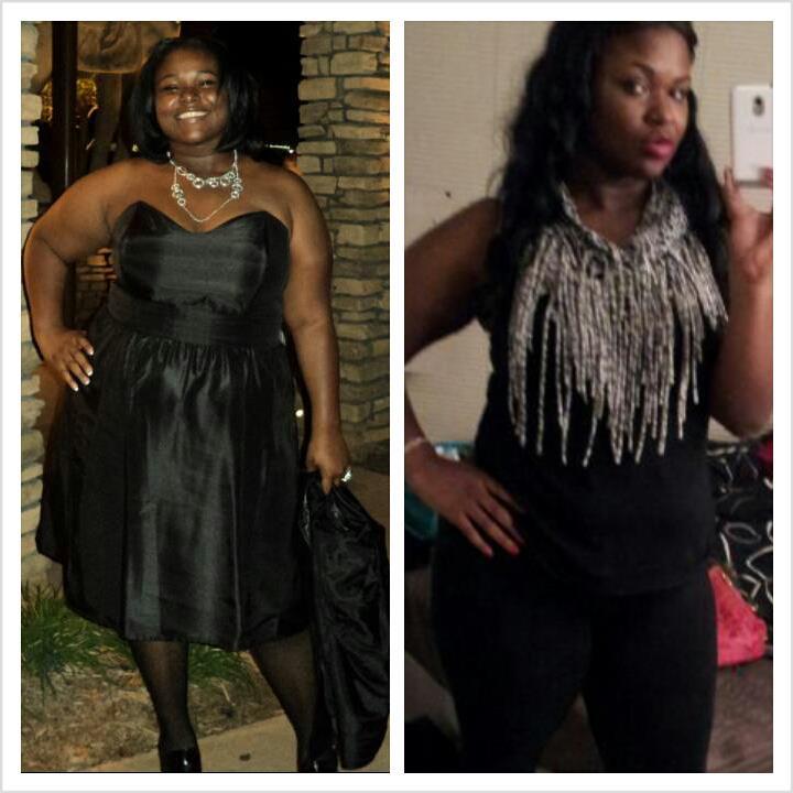 jasmin lost 71 pounds