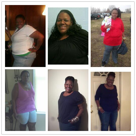 nakeisha weight loss photos