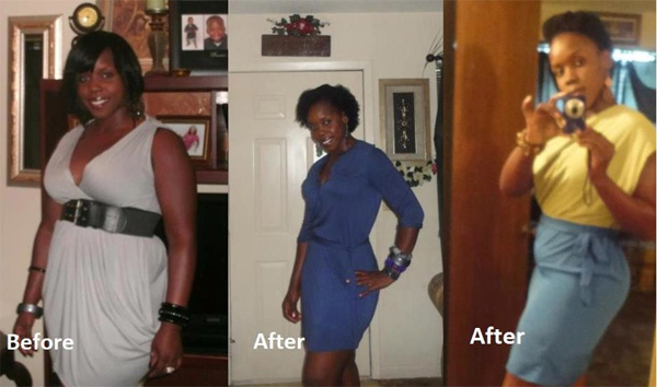 Trina lost 50 pounds