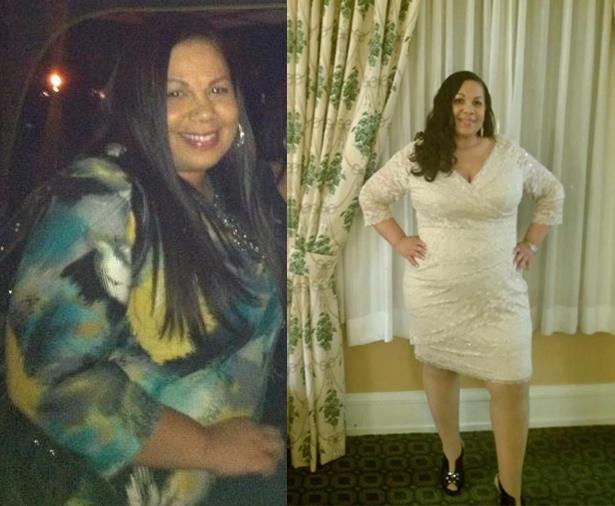 Elena lost 44 pounds