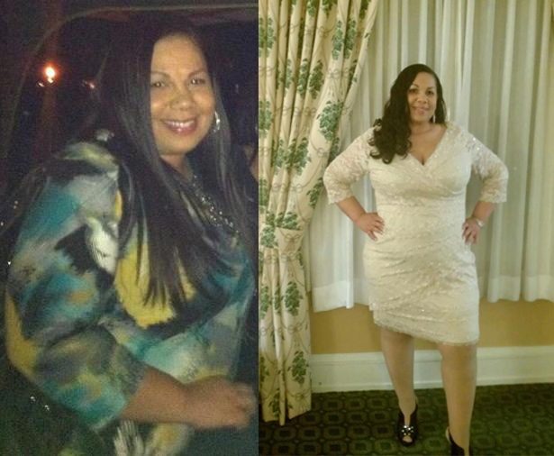 Elena lost 44 pounds