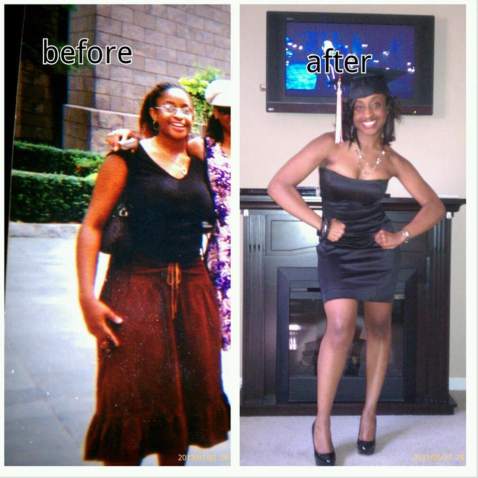 Georgina lost 30 pounds