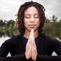 yoga black women