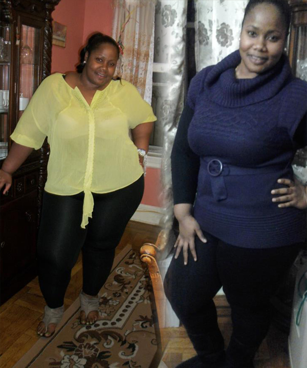Stacey lost 72 pounds