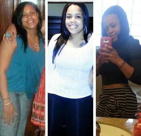 Monique weight loss