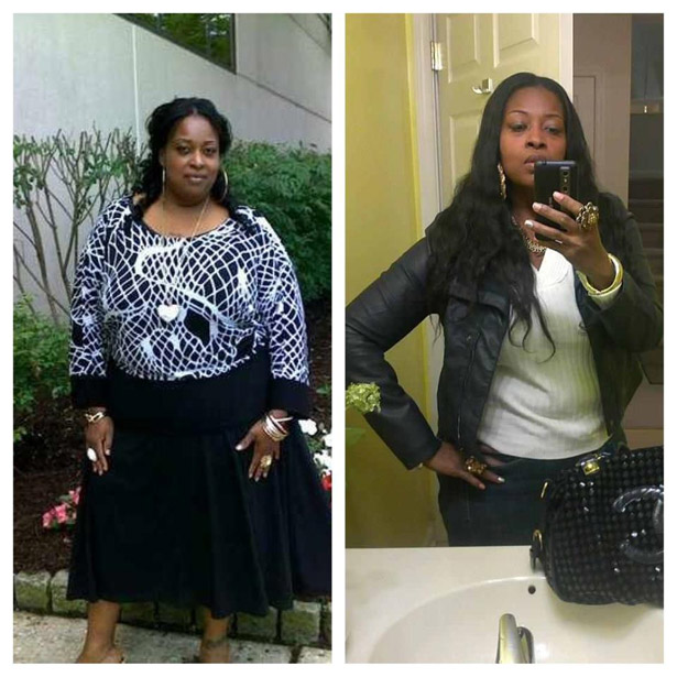 Arlena lost 122 pounds