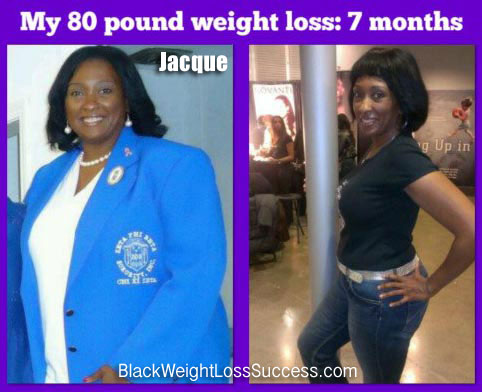 Jacque weight loss story