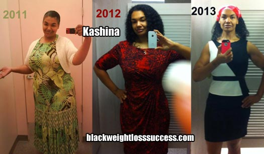 Kashina before and after