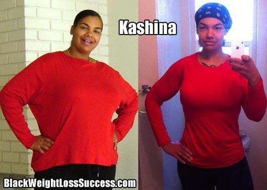 Kashina weight loss success
