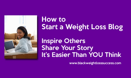 how to start a weight loss blog