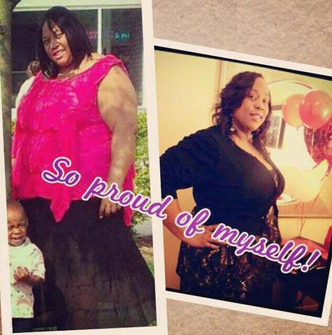 Krystle weight loss success