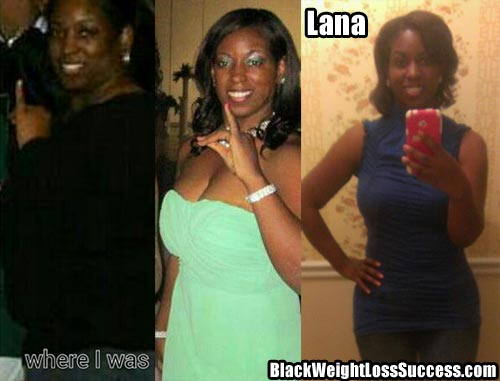 Lana before and after photos