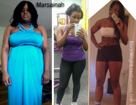 Marsainah before and after
