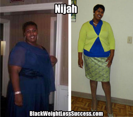Nijah weight loss story