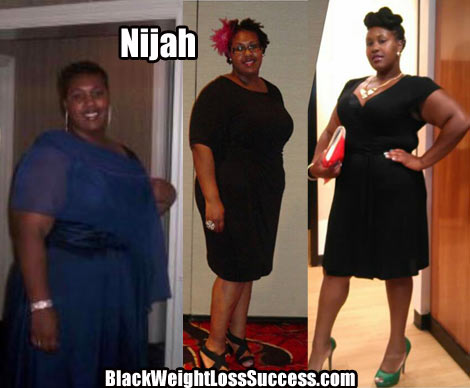 Nijah weight loss photos