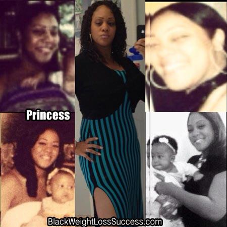 Princess weight loss photos