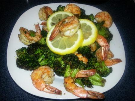 Broccoli Shrimp recipe
