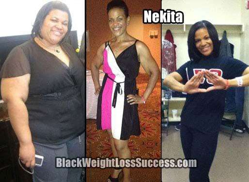 nekita weight loss story