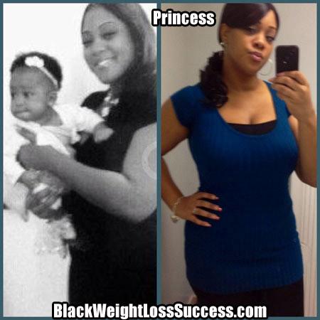 princess weight loss story