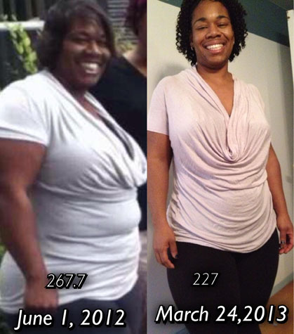 Sherlonda weight loss