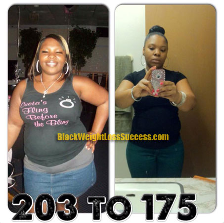 Brandie weight loss
