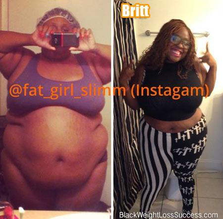 Britt weight loss story