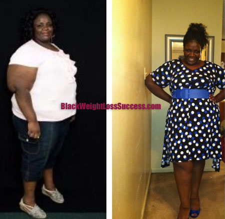 Crystal before and after weight loss