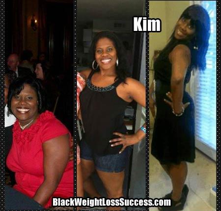 Kim updated weight loss