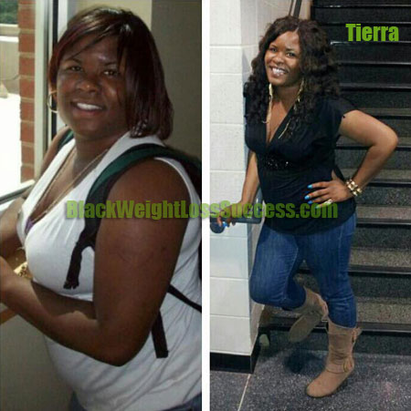 Tierra weight loss before and after