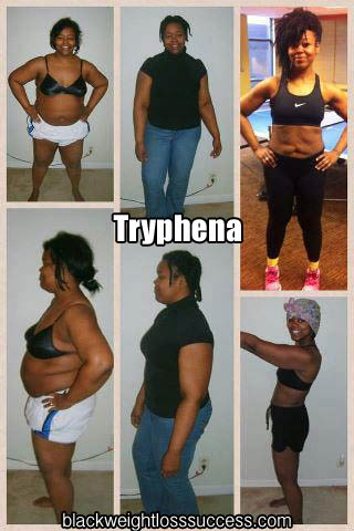 Tryphena before and after