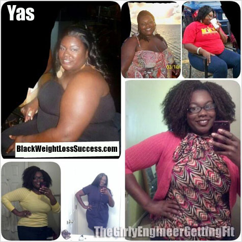 yas weight loss before and after