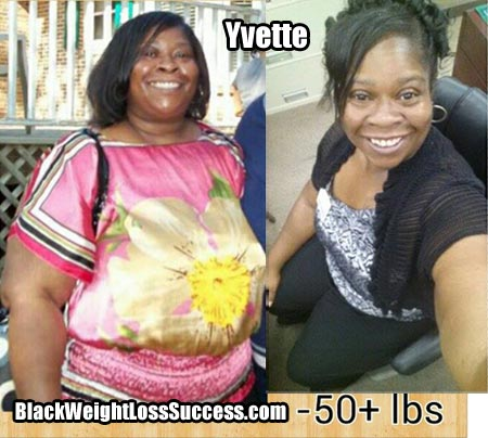 Yvette weight loss photos