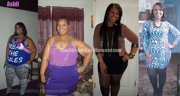Ashli before after weight loss