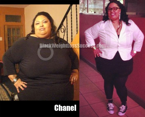 chanel before and after weight loss