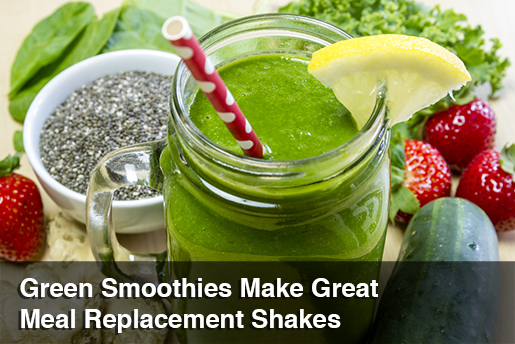 green smoothie meal replacement