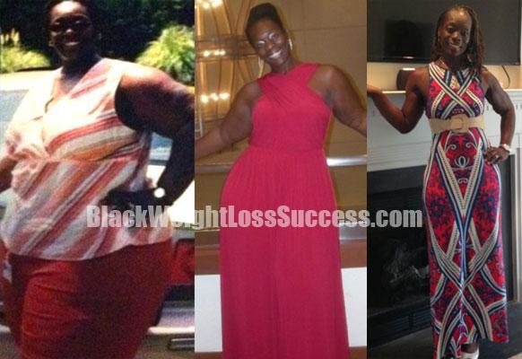 Nataisha weight loss before after