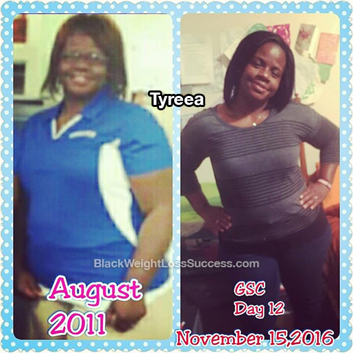 tyreea before and after