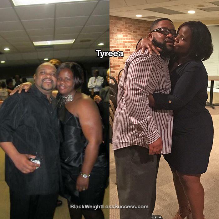 Tyreea and husband