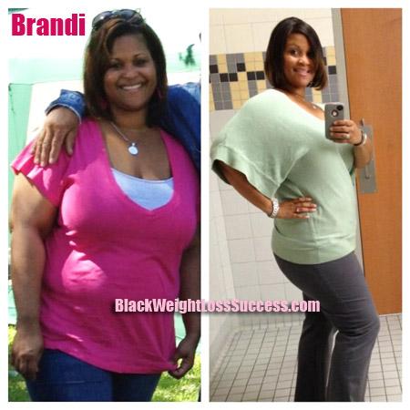 Brandi weight loss journey