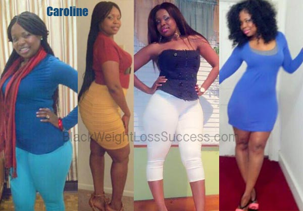 Caroline Lost 31 Pounds Black Weight Loss Success