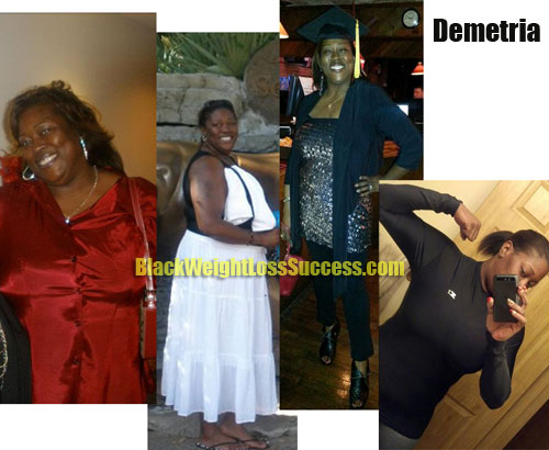 Demetria weight loss before and after