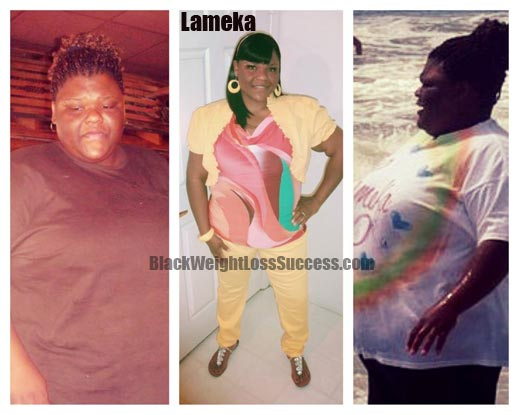 Lameka weight loss before and after