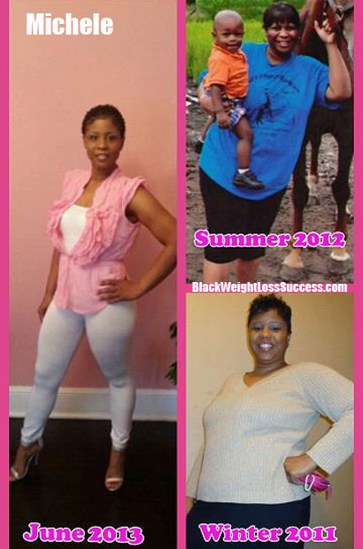 Michele lost 70 pounds in 7 months | Black Weight Loss Success