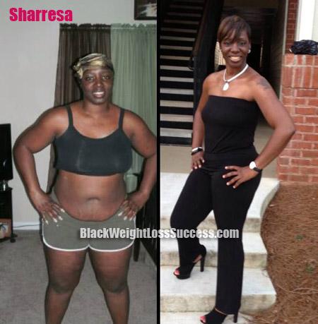 Sharresa weight loss loss