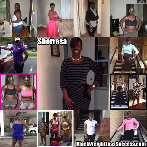 Sharresa weight loss story